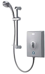 Aqualisa QZE9501 Quartz Electric Shower 9.5kw with Adjustable Height Head Chrome