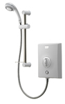 Aqualisa QZE8521 Quartz Electric Shower 8.5kw with Adjustable Height Head White Chrome