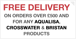 Free Delivery on Aqualisa, Bristan & Crosswater