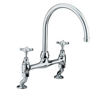 Bristan 1901 NDSMCP Bridge Sink Mixer Chrome