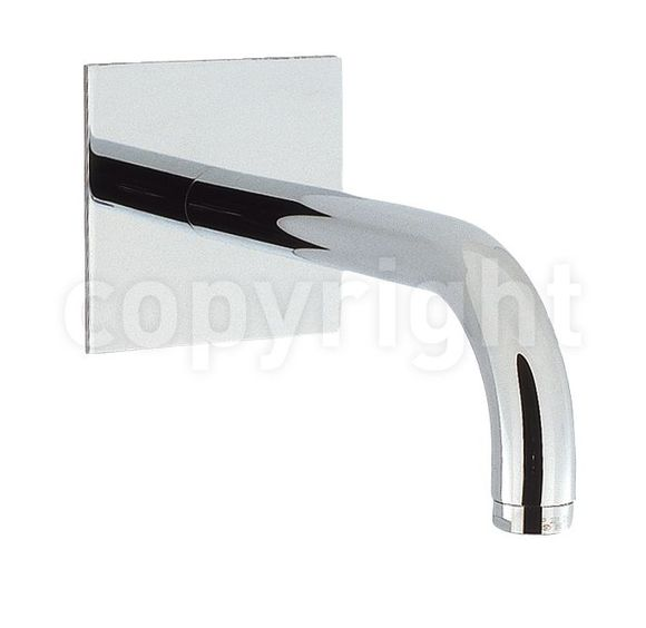 Crosswater Design DE0370WC Bath spout 160mm, wall mounted HP