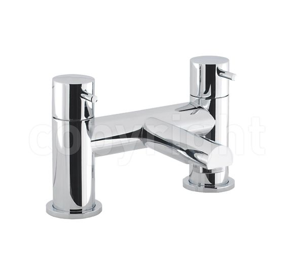Crosswater Kai Lever KL322DC Bath filler deck mounted LP