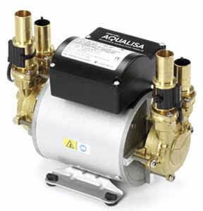Aqualisa MC0250 Mach 2.5 bar Twin Ended Shower Pump