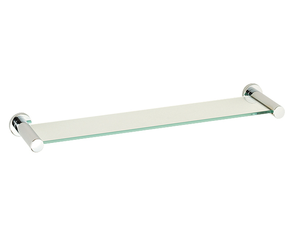 Roper Rhodes Minima 6912.02 Toughened Clear Glass Shelf 540mm(W) Chrome