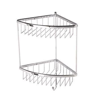 Roper Rhodes Madison Basketware WB50.02 Double Corner Basket Chrome