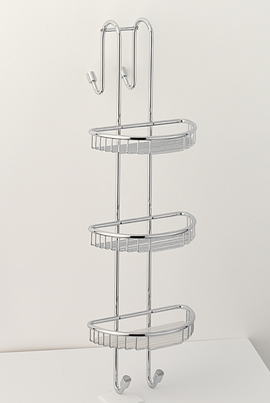Roper Rhodes Sigma Basketware CB70.02 Three Shelf Shower Caddy Chrome