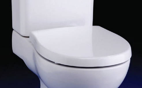 Ideal Standard E303401 Create Edge Square Standard Toilet Seat White