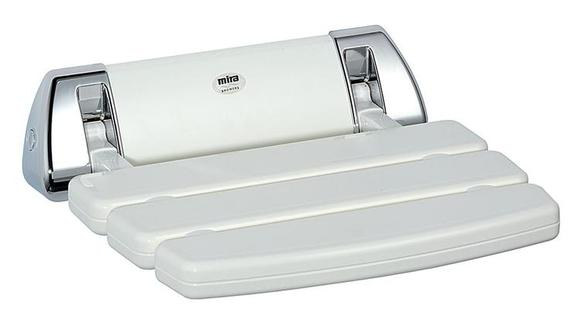 Mira 2.1536.129 Shower Seat White and Chrome