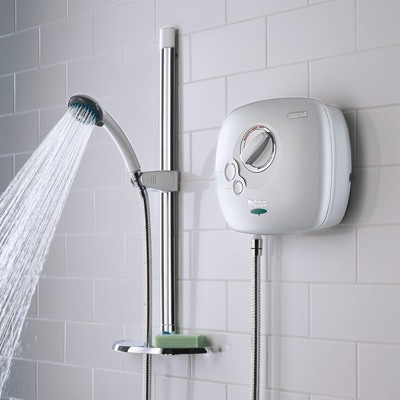 Bristan Hydropower HYPOWSHXW Thermostatic Power Shower 1500 White