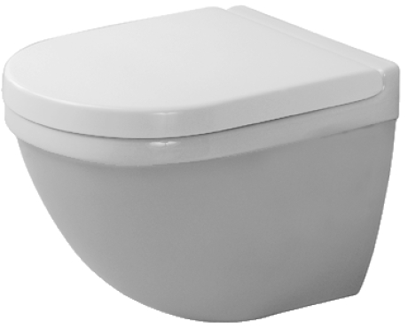 Duravit | Starck 3 | Complete Toilet | Wall Hung Toilet