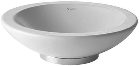 Duravit Bagnella 045148 Basin 480 Round White