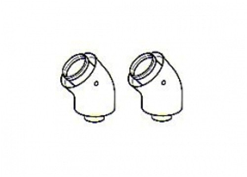Vaillant 303911 45 Degree Elbow (Pack Of 2)