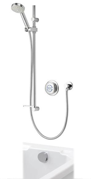 Aqualisa   Quartz Digital   QZD.A1.BV.DVBTX.14   Digital Shower