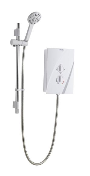 Bristan Cheer CHE95W 9.5Kw Electric Shower White