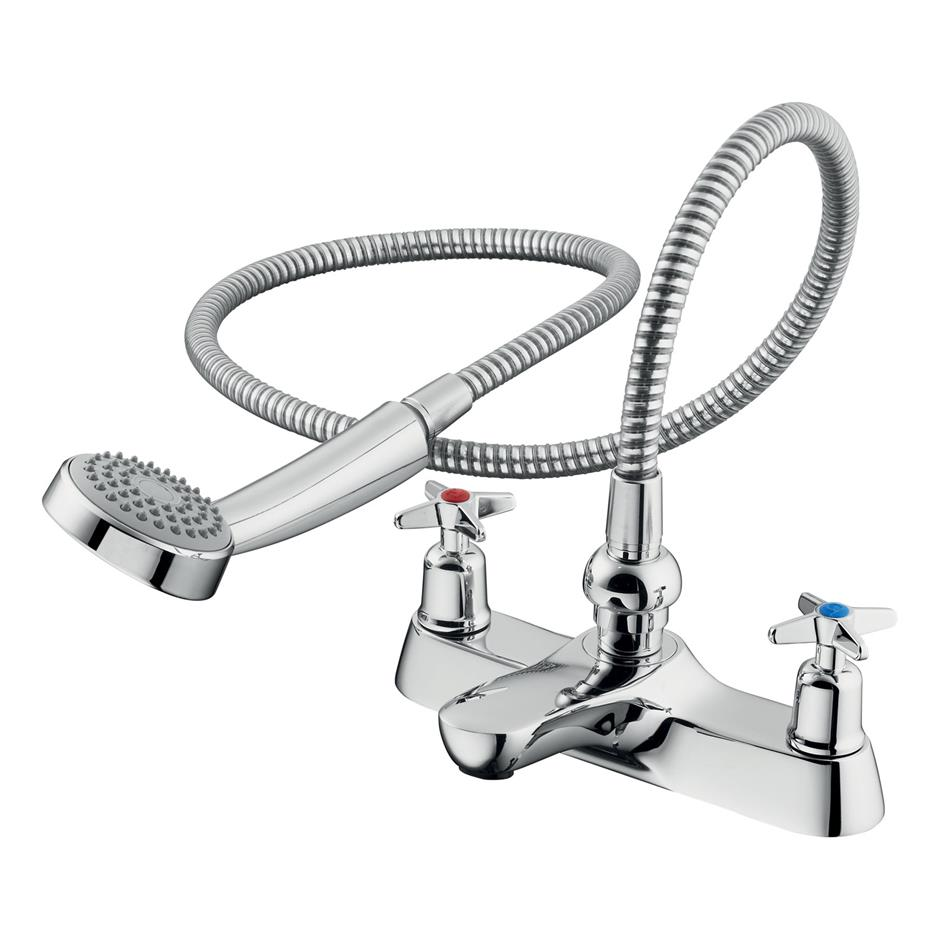 Did you require a bath shower mixer?