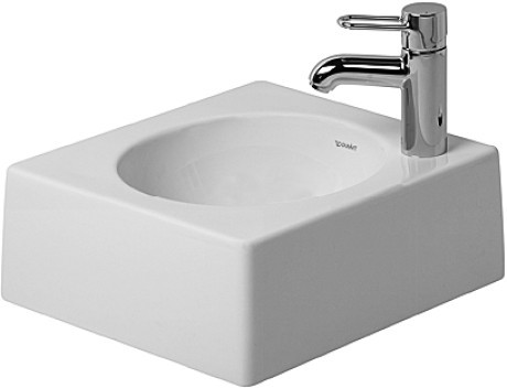 Duravit Architec 032040 Above Counter Basin Left Hand Tap Hole