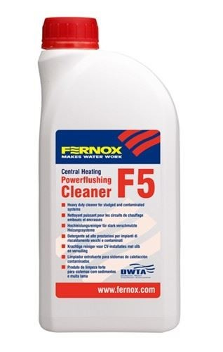 Fernox F5 56608 Powerflushing Cleaner 1 Litre
