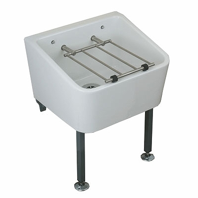 Twyford FC1034WH Cleaner Sink And Grating