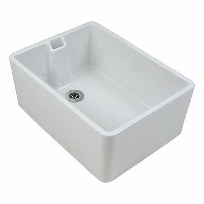 Twyford FC1211WH Belfast Sink 475 X 390 X 215 White