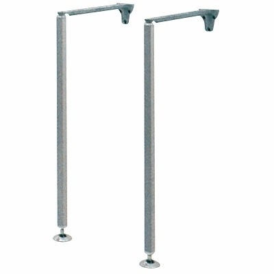 Twyford SR3044XX Legs & Stays 635H x 405L  - Pair