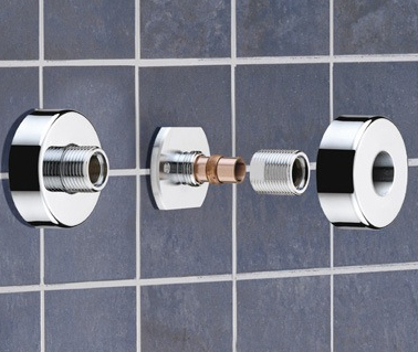 Bristan WMNT10C Wall Mount Fast Fit Fittings Chrome