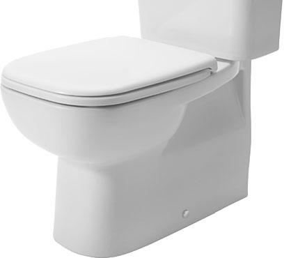 Duravit | D-Code | 2118091 | Close Coupled Pan