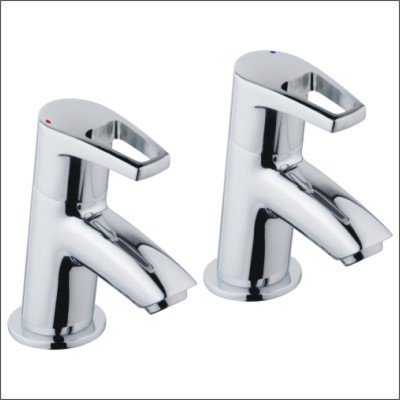 Bristan Smile SM 3/4 C  Bath Taps Pair Chrome