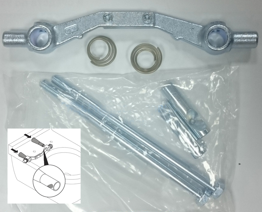 Duravit 1003761000 Wall Mounted Pan Fixings Invisible Durafix