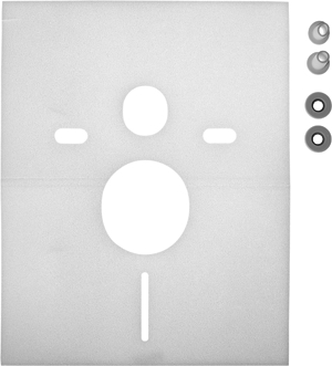 Duravit | 005064 | Noise reduction gasket