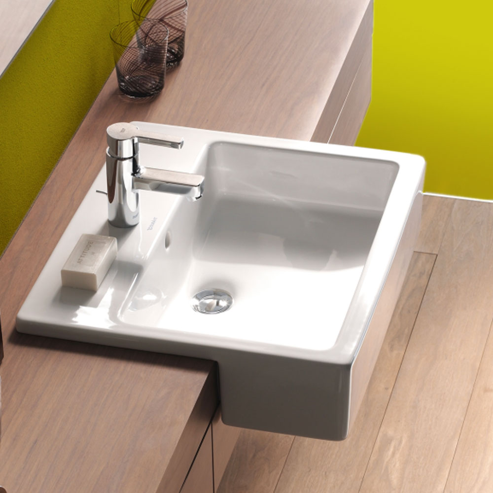 Semi countertop basins