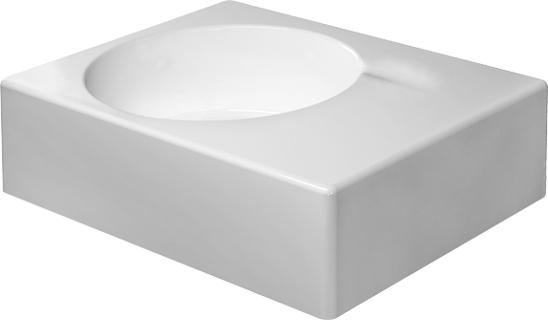 Duravit Scola 068460 650mm No Tap Hole Washbasin