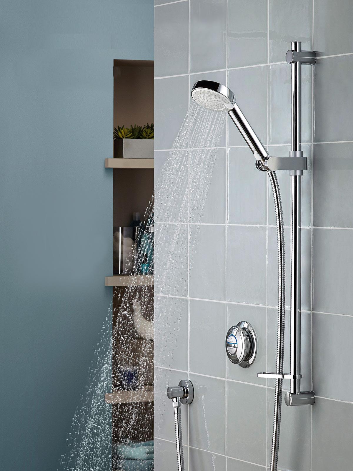 Aqualisa | Quartz Digital | QZD.A1.BV.14 | Digital Shower - Digital ...