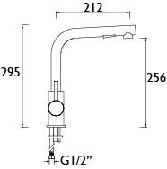 Bristan | Macadamia | MCD PULLSNK C | Kitchen Sink Mixers | TD