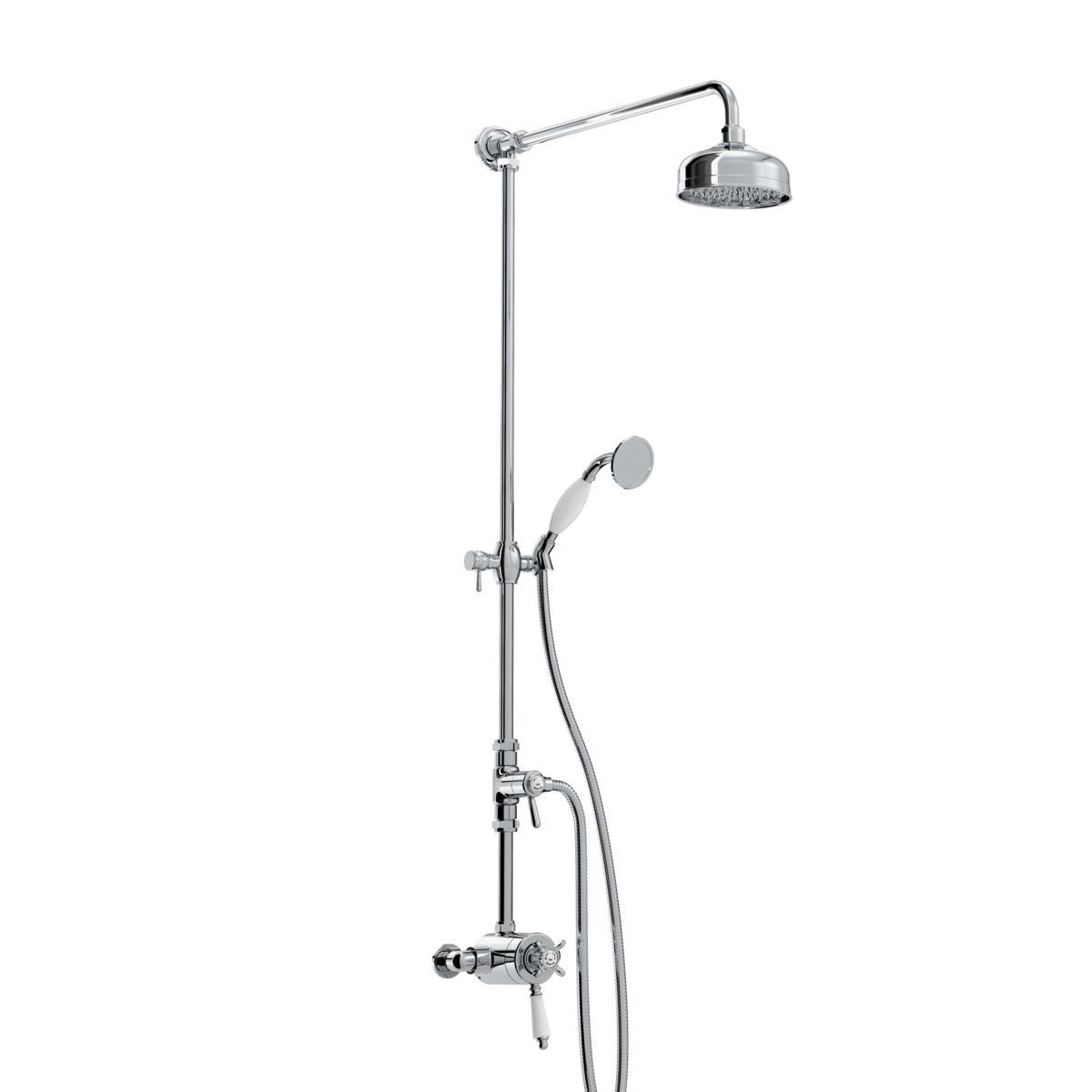 Bristan 1901 N2 CSHXDIV C Concentric Shower