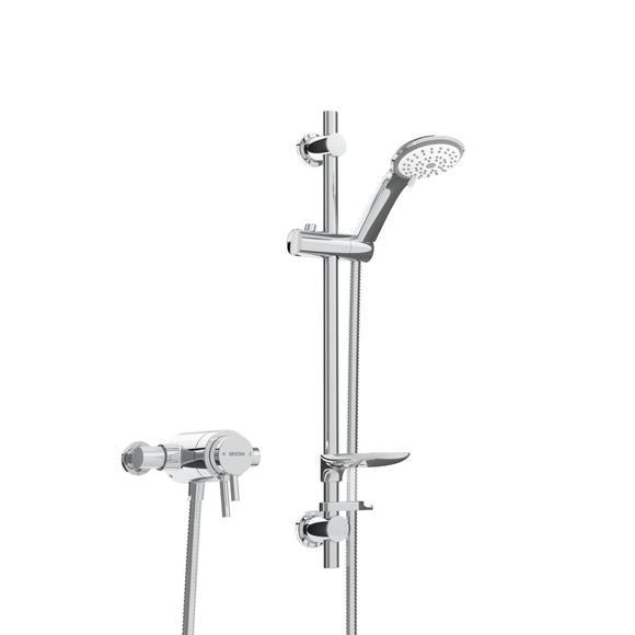 Bristan Prism PM2 CSHXAR C Concealed Concentric Shower