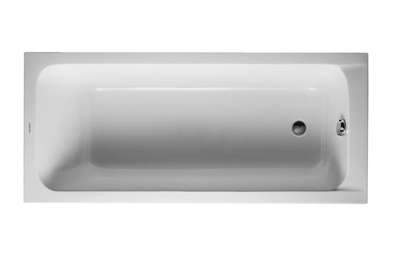 Duravit D-Code 700103 1600 x 700mm Rectangular Bath