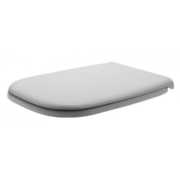 Duravit 006739 D-Code Compact Soft Close Seat & Cover White
