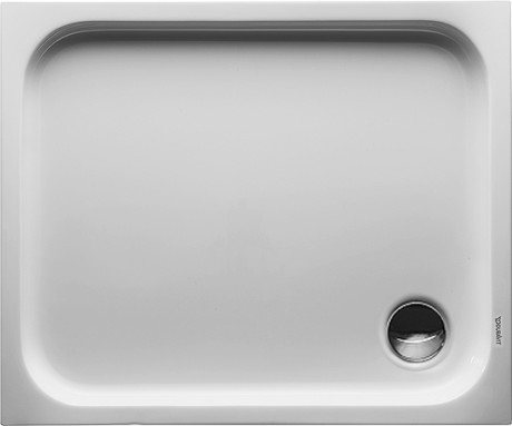 Duravit   D Code   72010400000000   Rectangular Shower Tray
