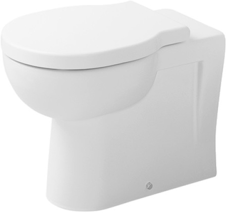 Duravit 017709 Foster Back to Wall Pan Ho White