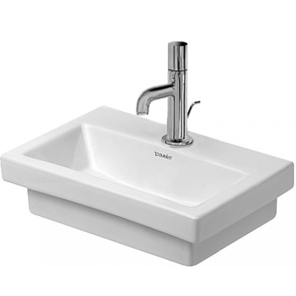 Duravit 2nd Floor 079040 400 x 300mm Tap Hole 1 Wall Mounted Basin