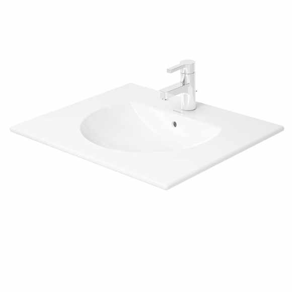 Duravit Darling New 0499630000 630x520 1 Tap Hole Countertop Basin