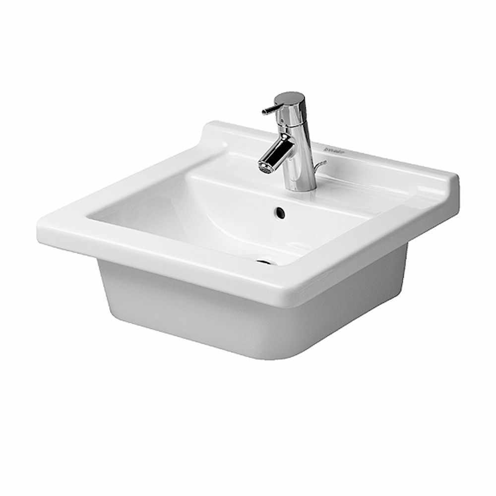 Duravit | Starck 3 | 0303480030 | Wall Mounted Basin - View all ...