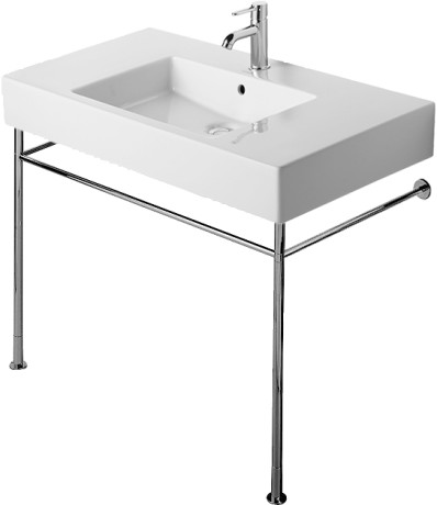 Duravit | Vero | 0030711000 | Metal Console - Pedestals - Bathrooms ...