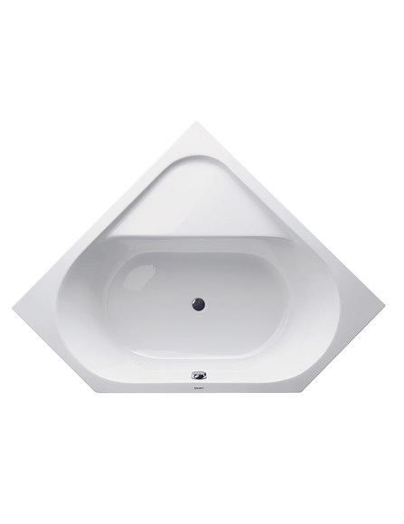 Duravit 700139 D-Code Built In Corner Bath 1400X1400 Inc Feet White