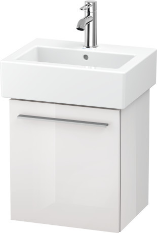 Duravit XL6209 X-Large 400 X 328 Wall Mounted Vanity Unit One Door Rh White High Gloss