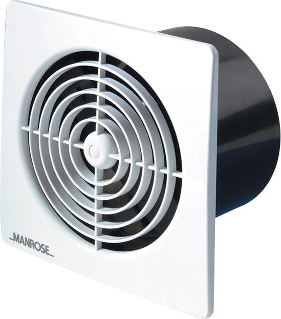 Manrose | Lo Profile Range | LP100S | 100mm Fan Accessories | Extractor Fan