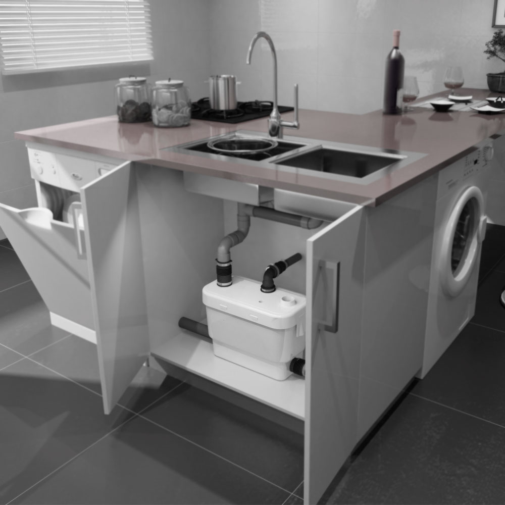 Kitchens and bathrooms direct - Macerators