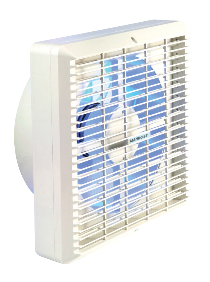 Manrose | Wall and Window Range | XF150P | 150mm Manually Controlled | Extractor Fan