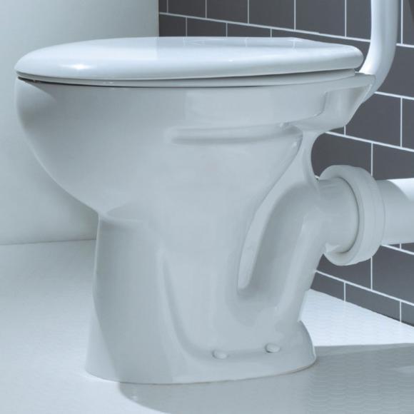 Lecico Atlas ASWHLLPA2 Low Level WC Pan White