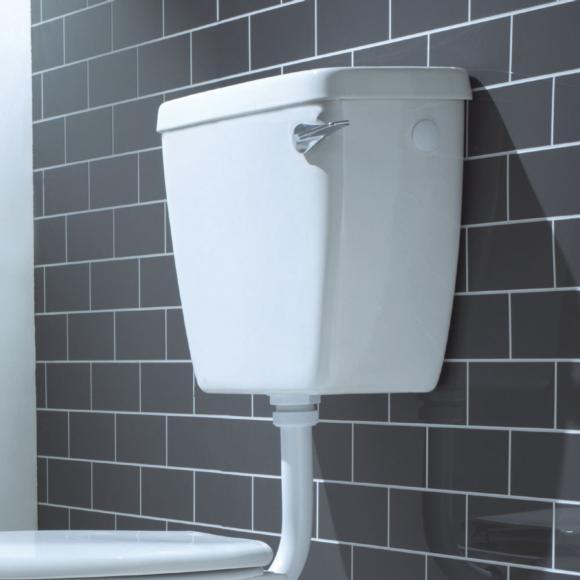Lecico Atlas ASWHLLCI Low Level Lever Flush Cistern White